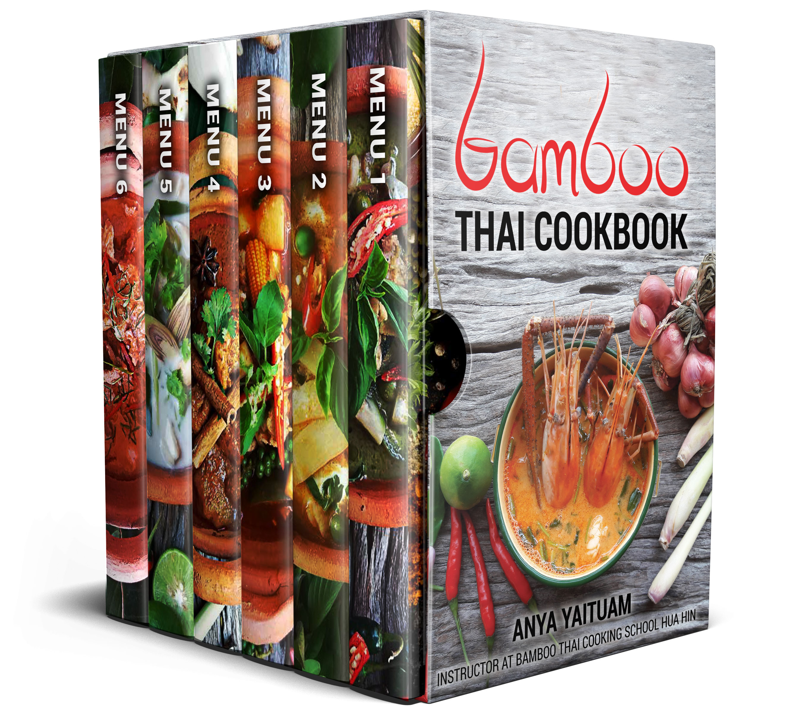 Bamboo Thai Cooking Recipe Ebooks